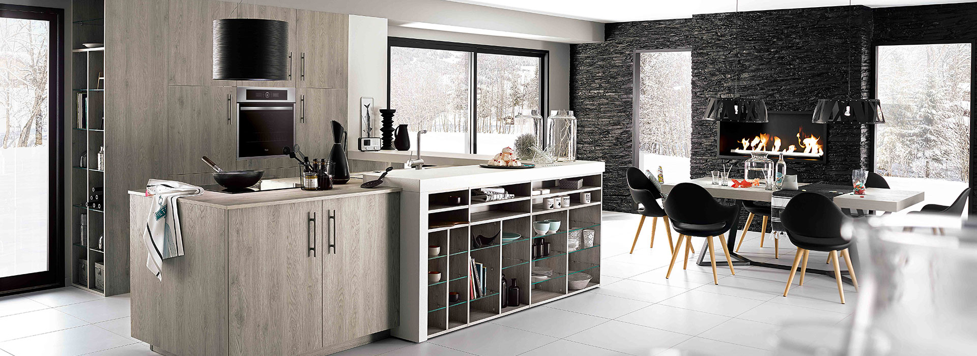 r novation de cuisine cuisiniste mobalpa saint laurent. Black Bedroom Furniture Sets. Home Design Ideas